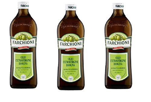 3x Farchioni Classico Extra Natives nativ Olive Olivenoel 1L olio vergine oliva