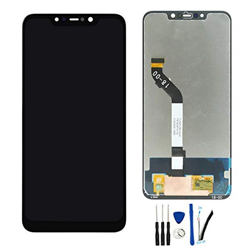 SOMEFUN Pantalla LCD Repuestos Compatible con Xiaomi Mi Pocophone F1 / Poco F1 6.18