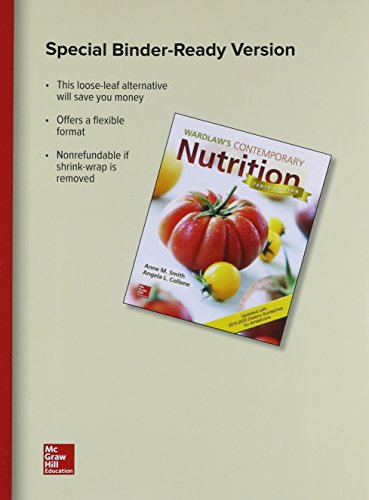 Price comparison product image GEN COMBO LL WARDLAWS CONTEMPORARY NUTRITION UPD / DIETARY GUIDELINES; CONNECT AC
