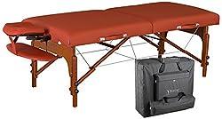 Master Massage Santana Memory Foam Portable Massage Table Package Review