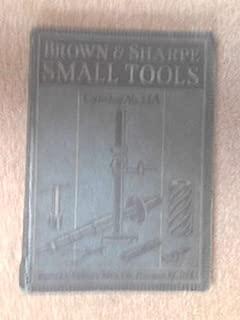Brown & Sharpe Small Tools, Catalog No. 33