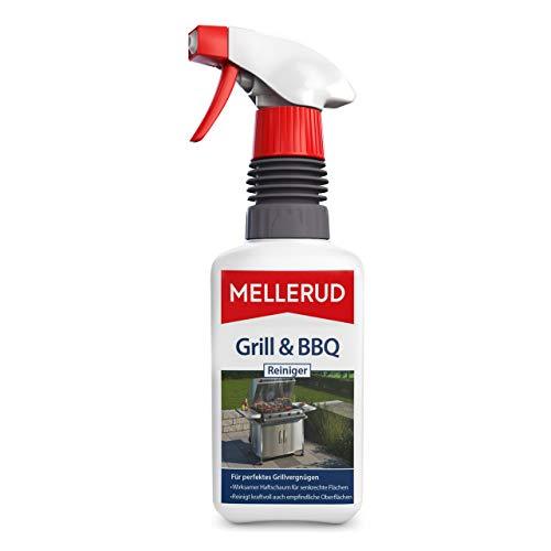 MELLERUD 2001002718 Grill & BBQ Reiniger – Ergiebiges Spray zur Reinigung von Eingebranntem, Fett und Verkrustungen – 1 x 0,46 l