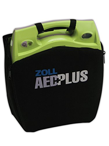 Soft Carry Case, f/ AED Plus Kit, Strap, Black/Green, Sold as 1 Each