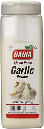 cheap Badia garlic powder, 16 ounces.