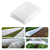 alblinsy hefei 24.6 x 7.8Ft Winter Plant Cover, Freeze Protection Cover, Warm Worth Frost Protection Cover Frost Cloth Blanket Protecting Fruit Tree Potted Plants from Freezing Animals Eating