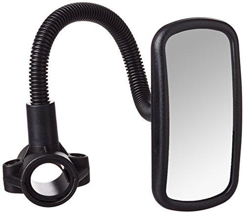 hr-imotion Fahrradspiegel / E-Scooter-Spiegel mit verstellbarem Schwanenhals und konvexem Glas für eine weitere Übersicht und erhöhte Sicherheit [Made in Germany I Schnelle Montage]