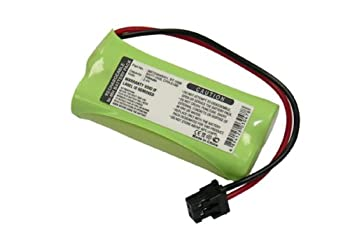 Uniden Rechargeable Phone Battery Nickel Metal Hydride NiMH DC 2.4V 650mAh  BT-1008