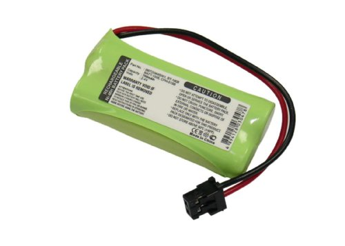 Uniden Rechargeable Phone Battery, Nickel Metal Hydride NiMH, DC 2.4V, 650mAh (BT-1008)