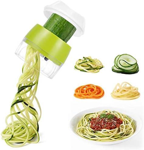 Handheld Spiralizer Vegetable Slicer 4 In 1 Heavy Duty Veggie Spiral Cutter Zucchini Noodle product image