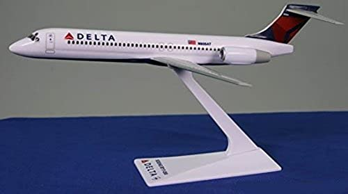 Delta (07-Cur) 717-200 Airplane Miniature Model Snap Fit Kit 1 200 Part ABO-71720H-008 by Flight Miniatures