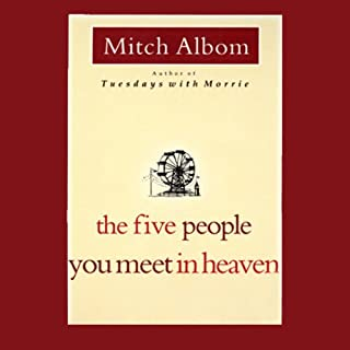 The Five People You Meet in Heaven                   Auteur(s):                                                                                                                                 Mitch Albom                               Narrateur(s):                                                                                                                                 Mitch Albom                      Durée: 4 h et 38 min     31 évaluations     Au global 4,7