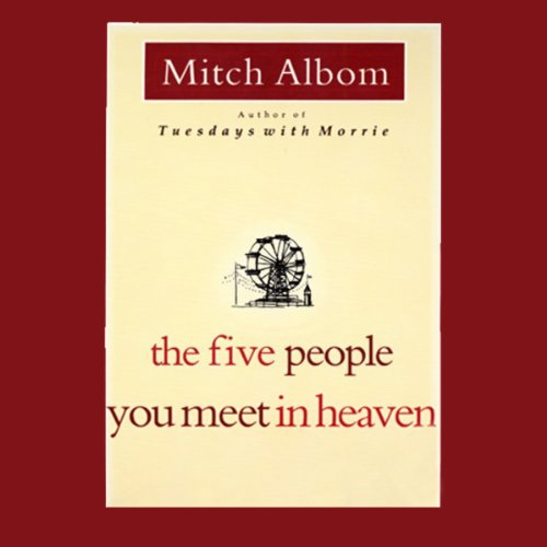 The Five People You Meet in Heaven                   Written by:                                                                                                                                 Mitch Albom                               Narrated by:                                                                                                                                 Mitch Albom                      Length: 4 hrs and 38 mins     30 ratings     Overall 4.7
