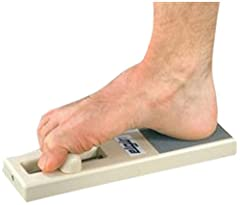 Provides resistance for key foot exercises used in clinical rehab of the arch and foot Strengthening the  intrinsic and extrinsic musculature of the foot Treats a variety of ailments including plantar fasciitis and heel spur syndrome Useful for treat...