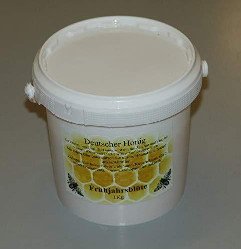 Bienenhonig aus eigner Imkerei Frühjahrstracht im 1kg Eimer