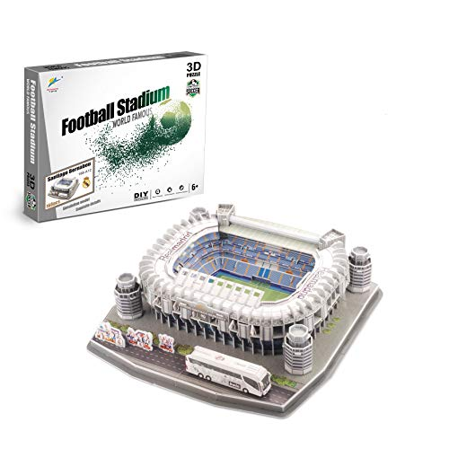 Zeye 3D Puzzle - Estadio Santiago Bernabeu - Real Madrid