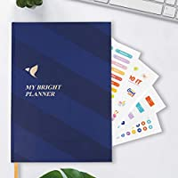 Mybright Planner | Daily, Weekly & Monthly Smart Goal Setting, Time Blocking, Appointment, Gratitude Journal, Habit...