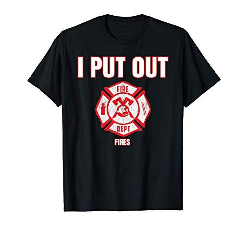 Disfraz de Halloween Bombero divertido Apagu incendios Camiseta