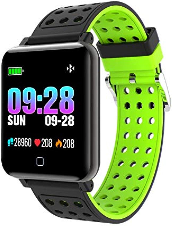 ZGYYDY Smartwatch Pulsmesser Blautdruck Mnner Frauen Uhr Sport Fitness Tracker Smart Uhr Für Android Ios
