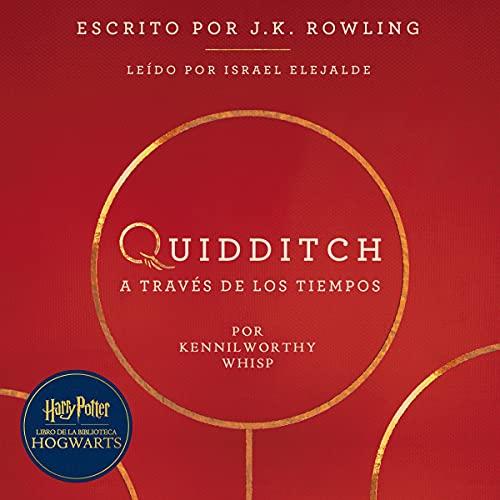 Diseño de la portada del título Quidditch a través de los tiempos
