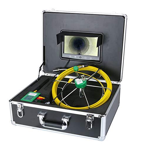 "50M 40M 30M 20M Abflussrohr Kanalinspektion Videokamera 9\"" TFT Display 1000TVL LEDs Nachtsicht-Endoskop-HD-Videokamera,30m"