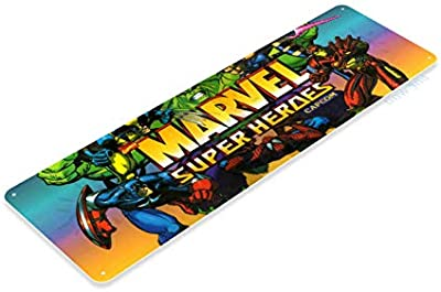 Shimeier Tinworld A509 Plaque en m/étal Motif mortal Kombat 2 Arcade Shop salle de jeux 15 x 40 cm