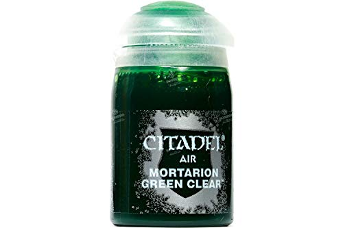 28-59 シタデルカラー AIR: MORTARION GREEN (24ML)