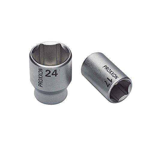 PROXXON 23523 Steckschlüsseleinsatz / Nuss 18mm Antrieb 10mm (3/8