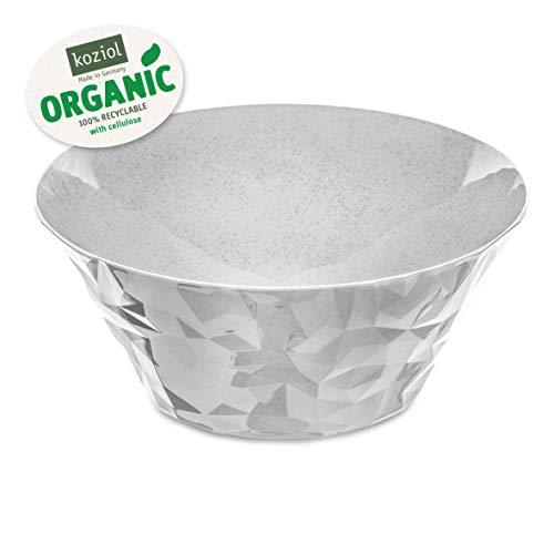 Koziol Club Bowl L Salatschüssel, Kunststoff, Organic Grey, L