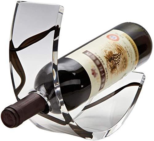 DJSMjbj Crafts Home Weinregal Weinregal Acryl Deko Innendekoration Weinregal Weinflaschenhalter Aufbewahrung