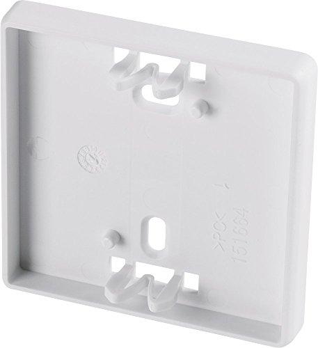 Homematic IP Wechselrahmen – schmal, für die platzsparende Wandmontage von batterieversorgten Geräten im 55er-Format