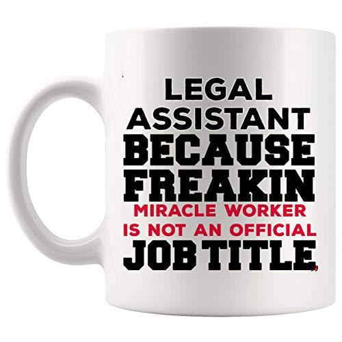 Asistentes de Freakin Taza Asistente Legal Ley Taza de café impresionante tazas de café - Asistente Legal Abogado Abogado Estudiante Ley Aide Clerk Regalo divertido del reportero de la corte para el c