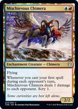 Magic: The Gathering - Mischievous Chimera - Theros Beyond Death