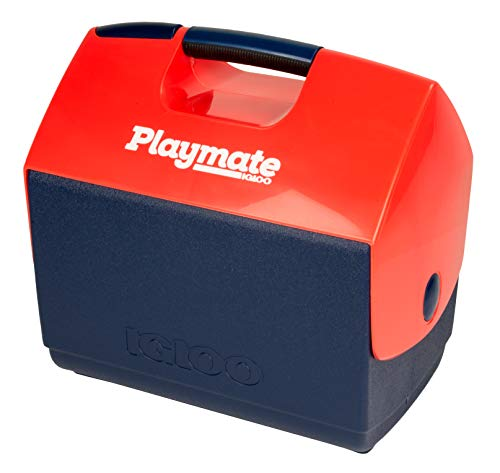 iGloo Playmate Ultra Elite Kühler–weiß/rot Meer, grau,