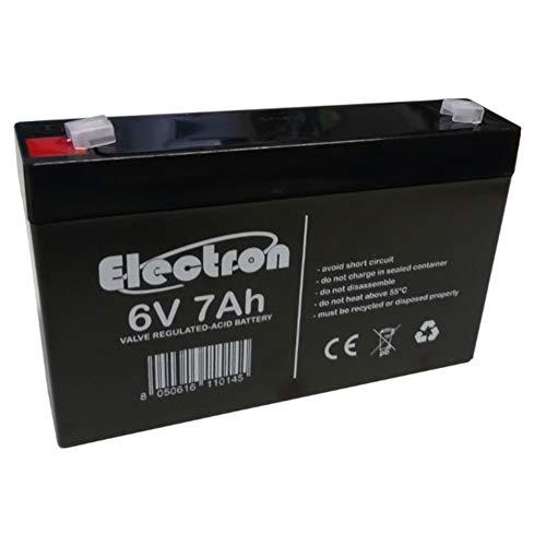 6V 7Ah batteria al piombo ermetica ricaricabile sigillata ricambio per auto macchina moto peg perego