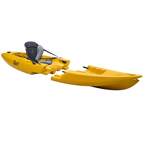 Punto 65 Tequila. GTX solo modulare Sit on top kayak, Yellow, Taglia unica
