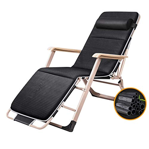N/Z Life Equipment Sun Loungers Zero Gravity Recliner Chair Living Room Balcony | Patio Garden Reclining Beach Chairs for Adults | Deck Chairs Outdoor Folding Max.150kg