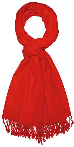 LORENZO CANA Luxus Herrenschal Männerschal Schal Schaltuch 50% Kaschmir 50% Wolle vom Merino-Lamm Wolle Kaschmirschal Wollschal