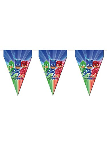 PJ Masks Banderín para decoración de fiestas (Verbetena 016001300)