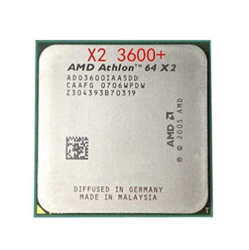 For Athlon 64x2 3600+ Desktop CPU 2.0GHz 512KB/1000Mhz Processor Socket AM2 Computer...