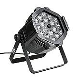 ETEC LED PAR 64 18x15 Watt RGBWA 5in1 Zoom Studio Scheinwerfer - Disco Party Beleuchtung DJ Club...