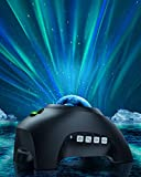 Northern Lights Star Projector for Bedroom - Joysky 3 in 1 Aurora Galaxy Projector with Bluetooth Speaker for Home Decor [8 White Noises ] Led Party Sky Light for Ceiling, Starry Night Lights for Kids