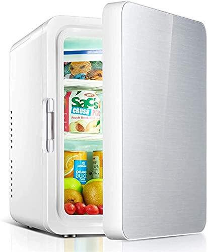 Mini Nevera 2 En 1 Refrigeradores Portátiles con Función De Enfriamiento Y Calefacción -5 ° C-65 ° C Freezer Pequeño 12V DC / 220V AC para Almacenar Bebidas, Frutas Y Cosméticos Nevera, 10 litros