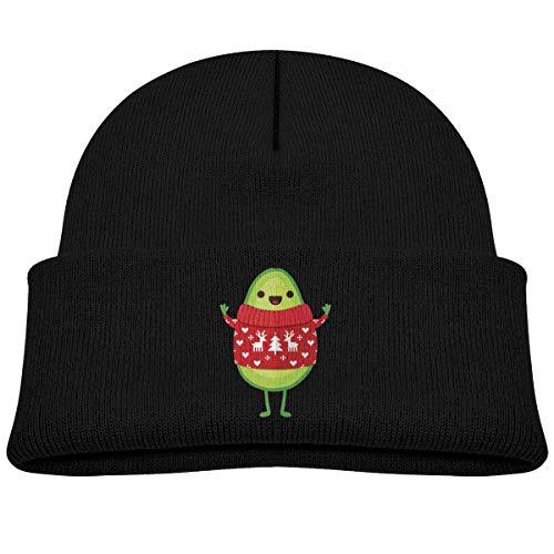 Daibing Cute Avocado Merry Christmas Beanie Hats Baby Boys