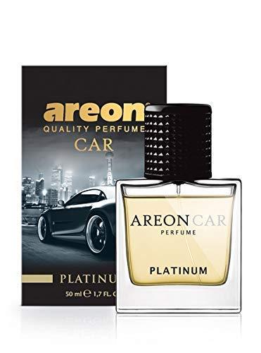 Areon Car Platinum Perfume - Ambientador de lujo para coche
