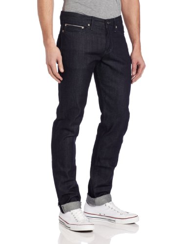 Naked & Famous Denim Men's Weird Guy Midrise Tapered-Leg Jean In Indigo Selvedge