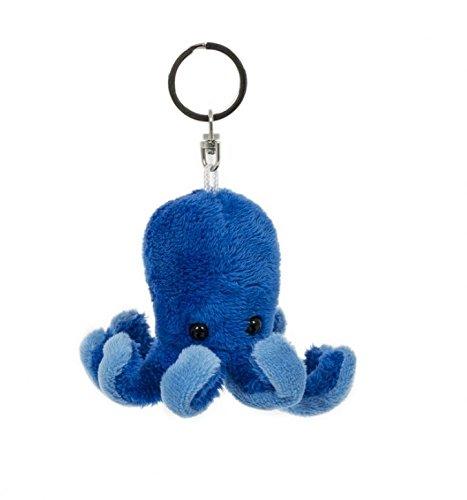 Unbekannt Schlüsselanhänger Oktopus, aus Plüsch, Tier Tiere, Krake, Tintenfisch