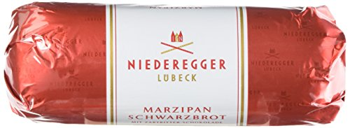 Photo of Niederegger Dark Chocolate Covered Marzipan Loaf; 125g (Pack of 3)