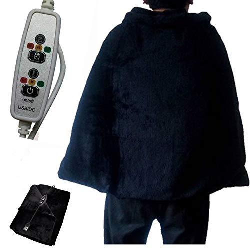 USB-Thermostat Heizdecke Heizungswärmer Pads zum Fahren Büro Schlafzimmer 3 Arten von Heizdecken mit Timing Funktion Körperheizungsdecke Wärmerer Heizteppich