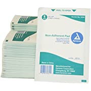 First Voice TS-3434-100 Mesh Non-Adherent Pads, 3-Inch X 4-Inch, Sterile (Pack of 100)