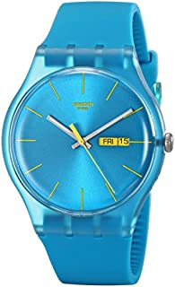 Swatch Men's SUOL700 Watch with Turquoise Band